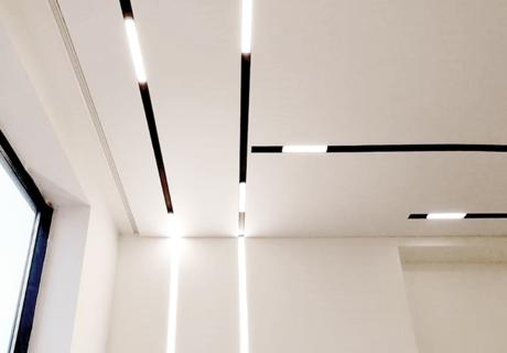 Световые линии SLOTT для натяжных потолков фото №4