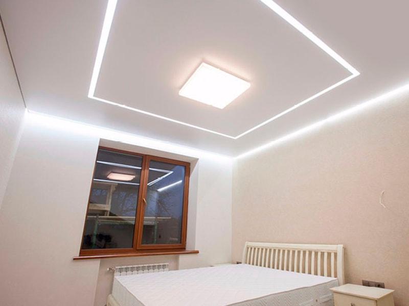 светящийся подвесной потолок фото организаций