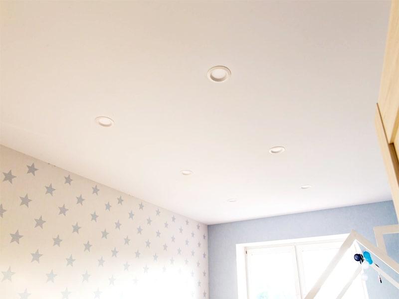 Натяжной потолок в стиле Прованс